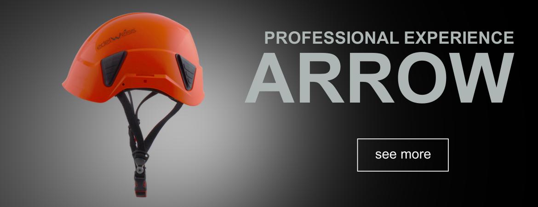 ARROW Edelweiss professional helmet