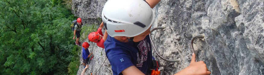 Via ferrata and Rope course