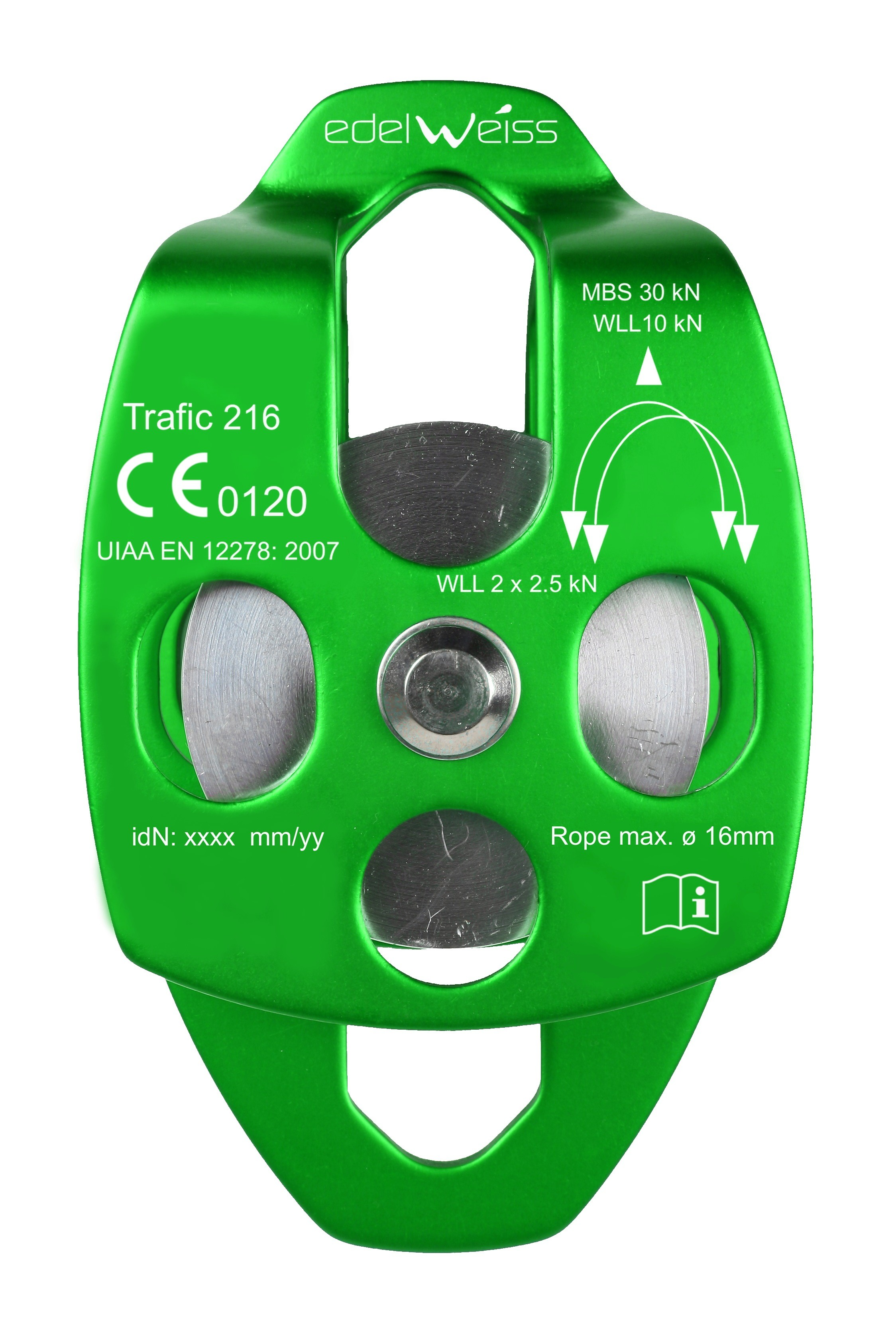 TRAFIC 216 pulley