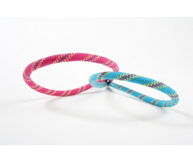 Aramid 5,5mm col Fucshia - Blue